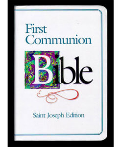 NABRE - St. Joseph First Communion Bible | Blue