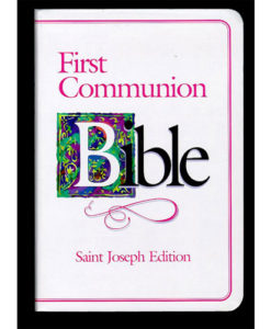 NABRE - St. Joseph First Communion Bible | Pink