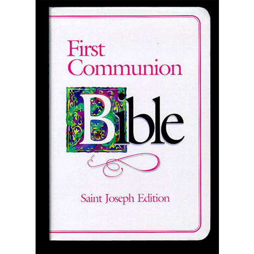 NABRE - St. Joseph First Communion Bible   Pink