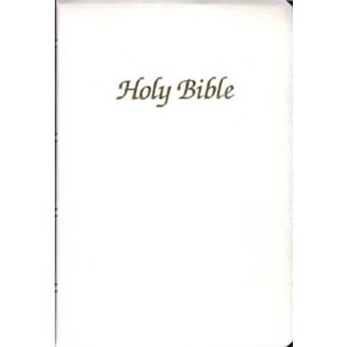 NAB - First Communion Bible | White Imitation Leather