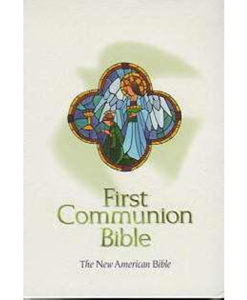 NAB - First Communion Bible | Navy Imitation Leather