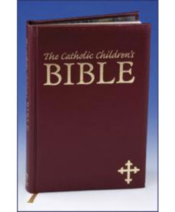 NAB - The Catholic Children's Bible | First Holy Communion Maroon Gift Bible