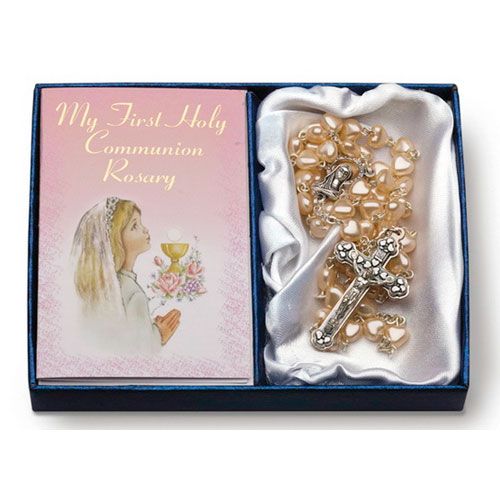 My First Holy Communion Rosary Girl