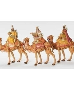 """Kings on Camels 3 Piece Set for Fontanini® 7 ½"""" Collection"""