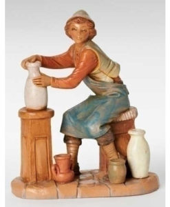 """Andrew Potter Figure for Fontanini® 7 ½"""" Collection"""
