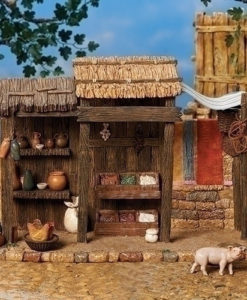 """Trading Post Village Building for Fontanini® 5"""" Nativity Collection"""