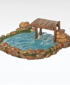 "Fishing Pond Accessories for Fontanini® 5"" Nativity Collection"