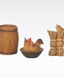 "Trading Post Accessories 3 Piece Set for Fontanini® 5"" Nativity Collection"