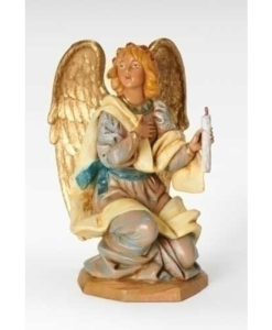 "Kneeling Angel Figure for Fontanini® 7 ½"" Collection"