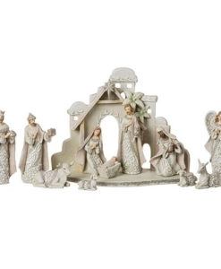 Nativity Stable with Animals Set | 12 Piece Set