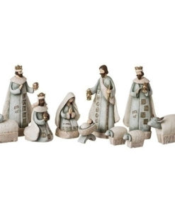Stamped Nativity Set | 10 Piece Set
