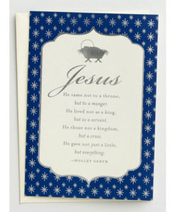 Holley Gerth - Jesus, He Came | 18 Boxed Christmas Cards