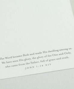 Roy Lessin - Jesus, The Wonderful One | 18 Premium Christmas Boxed Cards