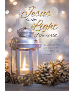 JESUS is the Light | 12 Christmas Boxed Cards