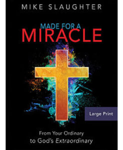 Made for a Miracle | Large Print Paperback