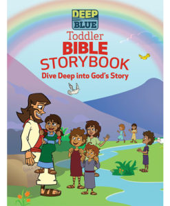 Deep Blue Toddler Bible Storybook