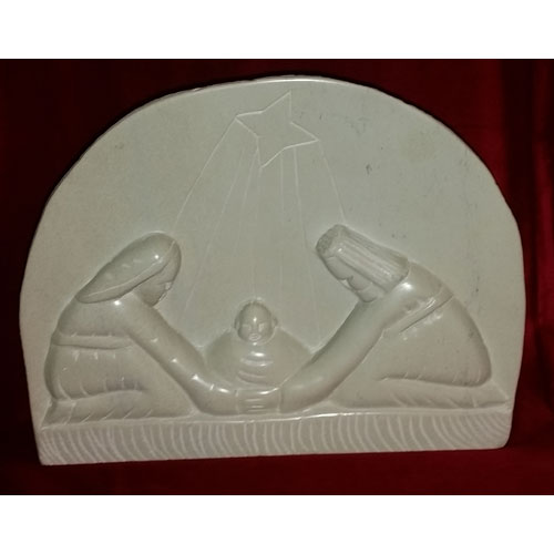Nativity Dome Soapstone Sculpture
