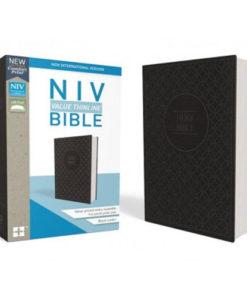 NIV Value Thinline Bible Comfort Print
