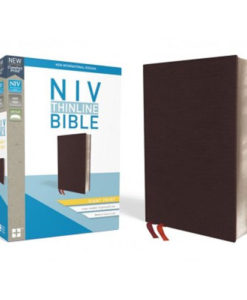 NIV Thinline Bible Comfort Print | Giant Print | Red Letter