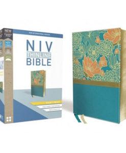 NIV Thinline Bible Comfort Print | Giant Print | Red Letter