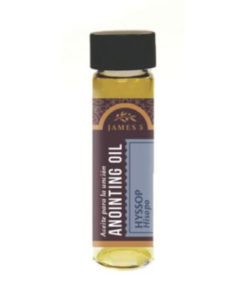Anointing Oil - Hyssop in Various Sizes