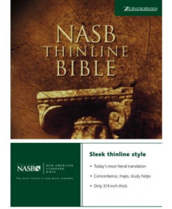 NASB - Thinline Bible | Paperback