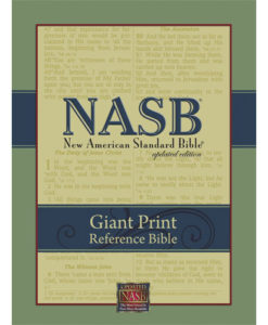 NASB - Reference Bible | Giant Print