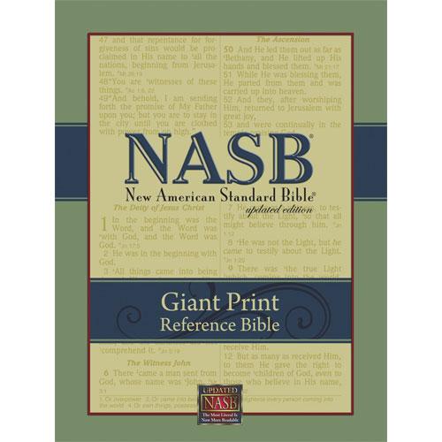 NASB - Reference Bible   Giant Print