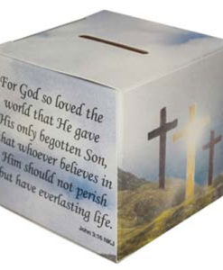 Lenten Offering Box English | Package of 50