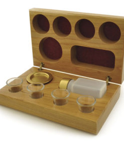 Portable Communion Cherry 4 Cup | Brasstone