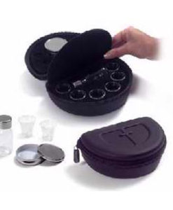 Portable Communion Deluxe 6 Cup | Burgundy/Black