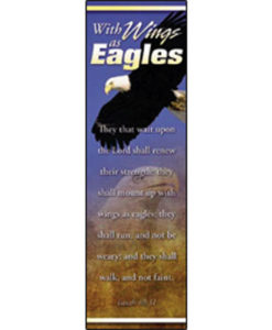 Bookmark - With Wings as Eagles