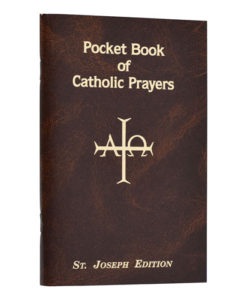 Pocket Book of Catholic Prayers | St. Joseph Edition
