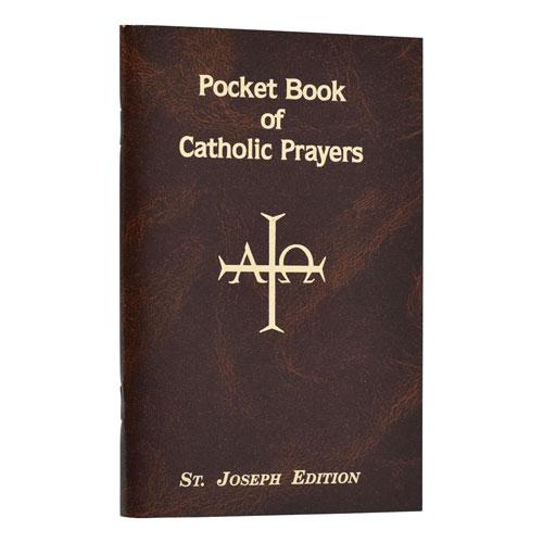 Pocket Book of Catholic Prayers | St. Joseph Edition