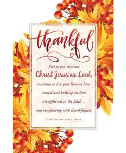 Thankful Thanksgiving 2018