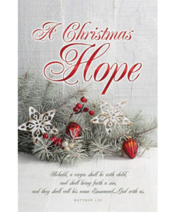A Christmas Hope Christmas 2018 Bulletin