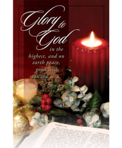 Glory to God… Christmas 2018 Bulletin