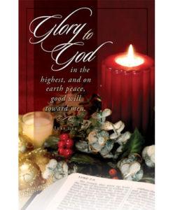 Glory to God… Christmas 2018 Bulletin