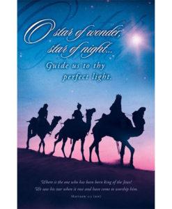 O star of wonder, star of night… Christmas 2018 Bulletin