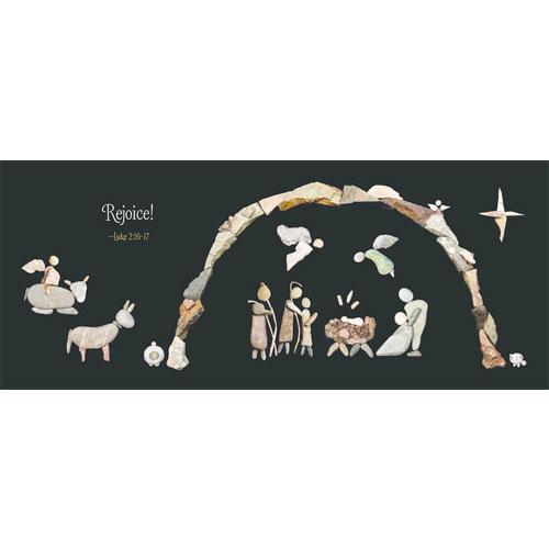 A Savior Is Born: Rocks Tell the Story of Christmas