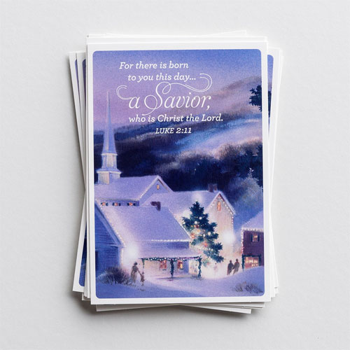 Christ the Lord   18 Christmas Boxed Cards