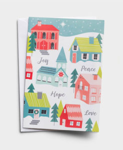 Joy, Peace, Hope, Love | 18 Christmas Boxed Cards