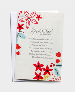 Jesus Christ the Son of God | 18 Christmas Boxed Cards