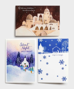 Religious Scenes | 48 Christmas Boxed Cards Assortment
