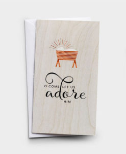 Little Inspirations - O Come Let Us Adore Him | 16 Christmas Boxed Cards