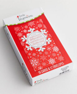Little Inspirations - Warm, Cozy, Merry & Bright | 16 Christmas Boxed Cards