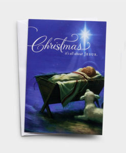 It's All About Jesus | 18 Christmas Boxed Cards