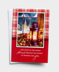 The Light of the World Shines Through Friends Like You | 18 Christmas Boxed Cards