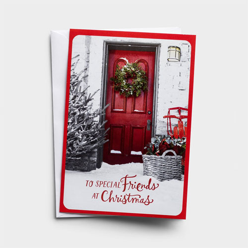 To Special Friends | 18 Christmas Boxed Cards