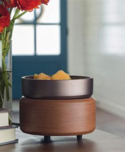 Pewter Walnut 2-in-1 Classic Fragrance Warmer